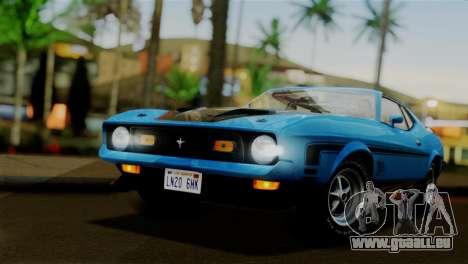 Ford Mustang Mach 1 429 Cobra Jet 1971 IVF АПП für GTA San Andreas