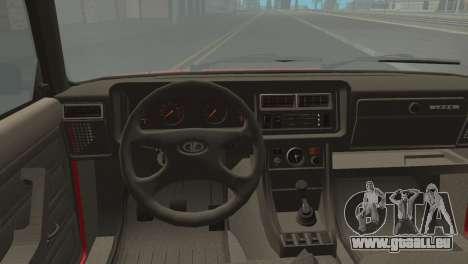 VAZ M pour GTA San Andreas sur la vue arrière gauche