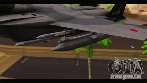 F-15J Hyakuri Air Base 30th Anniversary pour GTA San Andreas vue de droite