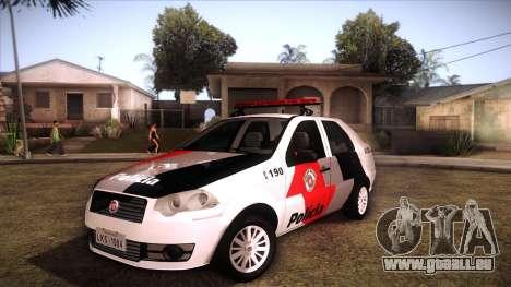 Fiat Siena 2011 für GTA San Andreas