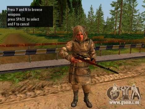 Soviétique Sniper pour GTA San Andreas