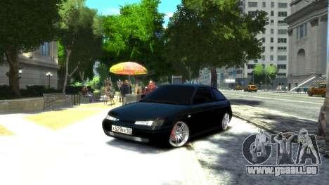 VAZ 2112 coupé BadBoy pour GTA 4