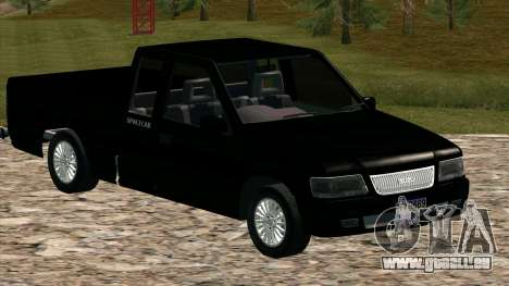 ISUZU Dragon Power für GTA San Andreas Innenansicht