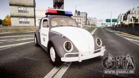 Volkswagen Fusca 1980 Military Police Sao Paulo für GTA 4