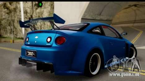 Chevrolet Cobalt SS Mio Itasha pour GTA San Andreas laissé vue