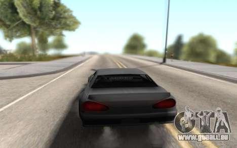 Elegy Drift by Randy v1.1 pour GTA San Andreas sur la vue arrière gauche