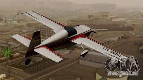 GTA 5 Stuntplane für GTA San Andreas linke Ansicht