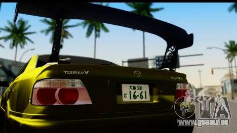 Toyota Chaser Tourer V Fail Crew pour GTA San Andreas vue de droite