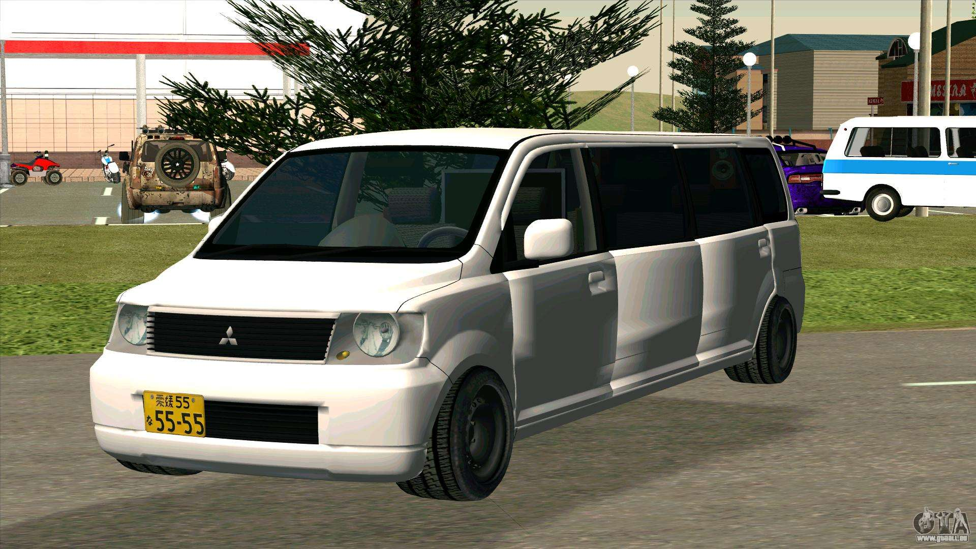 mitsubishi ek wagon limo pour gta san andreas. Black Bedroom Furniture Sets. Home Design Ideas