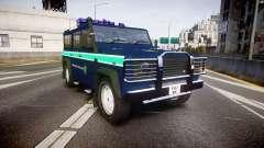 Land Rover Defender Policia GNR [ELS] pour GTA 4