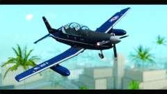 Beechcraft T-6 Texan II Royal Canadian Air Force für GTA San Andreas