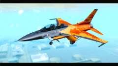 F-16D Fighting Falcon Dutch Demo Team J-015