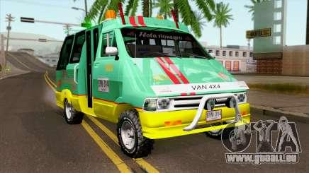 Toyota Microbus v2 für GTA San Andreas