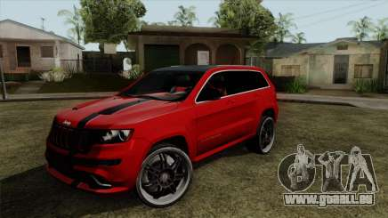 Jeep Grand Cherokee SRT8 pour GTA San Andreas