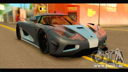 Koenigsegg Agera R 2011 Stock Version pour GTA San Andreas