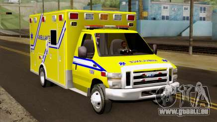 Ford F-450 2014 Quebec Ambulance pour GTA San Andreas