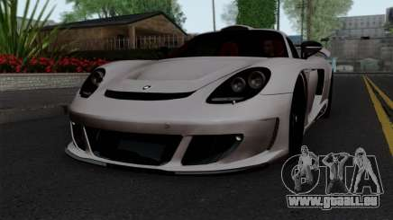 Gemballa Mirage GT v1 Windows Down für GTA San Andreas