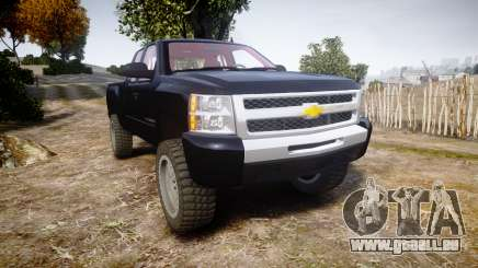 Chevrolet Silverado 1500 LT Extended Cab wheels3 für GTA 4