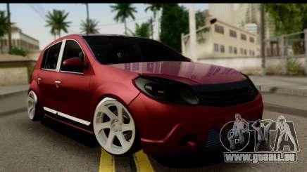 Dacia Sandero Low Tuning für GTA San Andreas