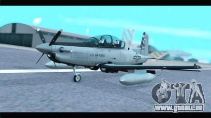 Beechcraft T-6 Texan II US Air Force 4 pour GTA San Andreas