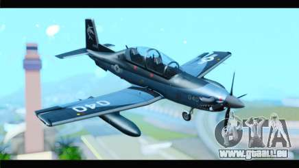Beechcraft T-6 Texan II United States Navy 2 pour GTA San Andreas