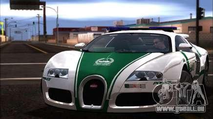 Bugatti Veyron 16.4 Dubai Police 2009 für GTA San Andreas