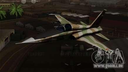 Northrop F-5 Estovakian Air Force für GTA San Andreas