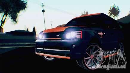 Range Rover Sport 2012 Samurai Design pour GTA San Andreas