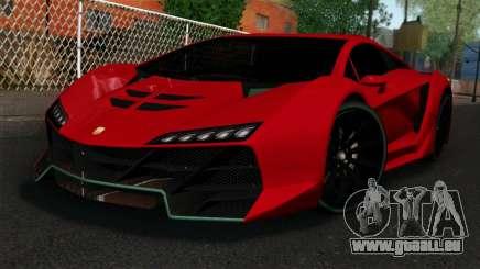 GTA 5 Pegassi Zentorno IVF für GTA San Andreas