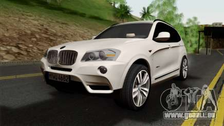BMW X3 F25 2012 pour GTA San Andreas