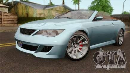 GTA 5 Ubermacht Zion XS Cabrio IVF für GTA San Andreas
