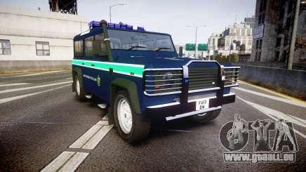 Land Rover Defender Policia GNR [ELS] für GTA 4