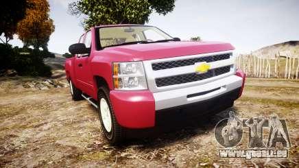 Chevrolet Silverado 1500 LT Extended Cab wheels1 für GTA 4