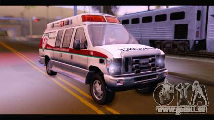 Ford E-350 Ambulance New Brunswick pour GTA San Andreas