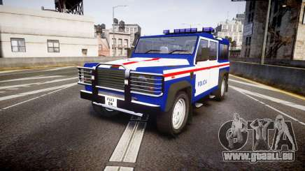 Land Rover Defender Policia PSP [ELS] pour GTA 4