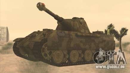 Pz.Kpfw. V Panther II Desert Camo für GTA San Andreas