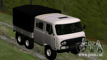 UAZ 39094 6X6 Dream hunter für GTA San Andreas