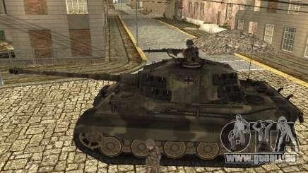 Panzerkampfwagen Tiger II pour GTA San Andreas