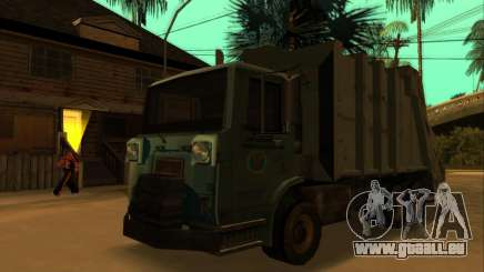 TDK Volvo Xpeditor Garbage pour GTA San Andreas