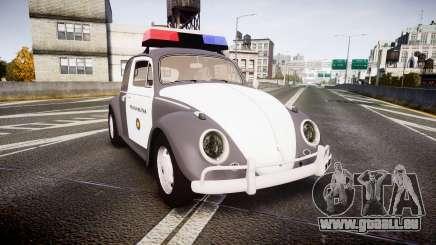 Volkswagen Fusca 1980 Military Police Sao Paulo pour GTA 4