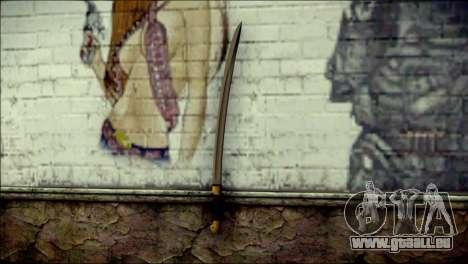 Red Army Shashka pour GTA San Andreas deuxième écran