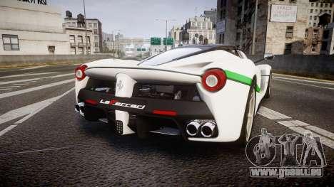 Ferrari LaFerrari 2013 HQ [EPM] PJ2 pour GTA 4 Vue arrière de la gauche