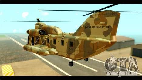 GTA 5 Cargobob für GTA San Andreas