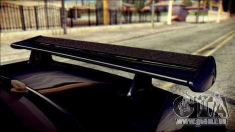 Nissan Skyline GTR V Spec II v2 für GTA San Andreas Rückansicht