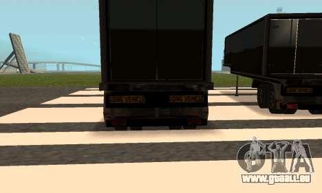 PS2 Article Trailer für GTA San Andreas Seitenansicht