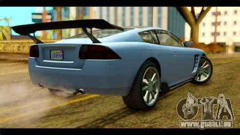 GTA 5 Ocelot F620 IVF pour GTA San Andreas laissé vue