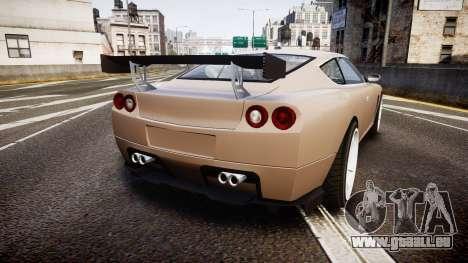 Dewbauchee Super GTO 77 pour GTA 4 Vue arrière de la gauche