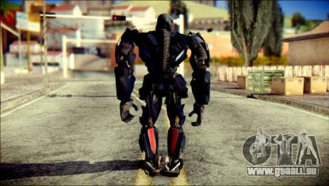 Lockdown Skin from Transformers für GTA San Andreas zweiten Screenshot