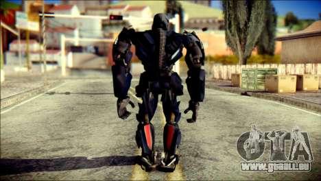 Lockdown Skin from Transformers für GTA San Andreas zweiten Screenshot