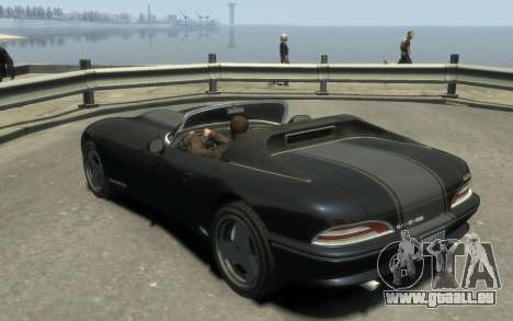 GTA 3 Bravado Banshee HD für GTA 4 hinten links Ansicht